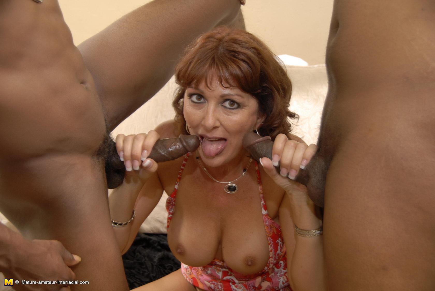 Horny black mama
