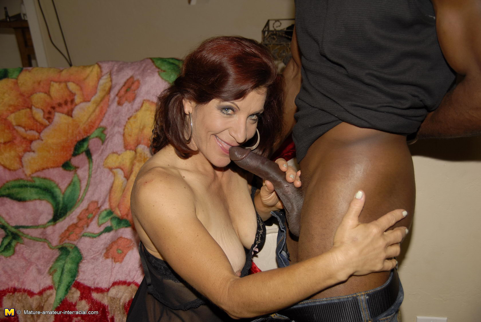 granny loves black dick
