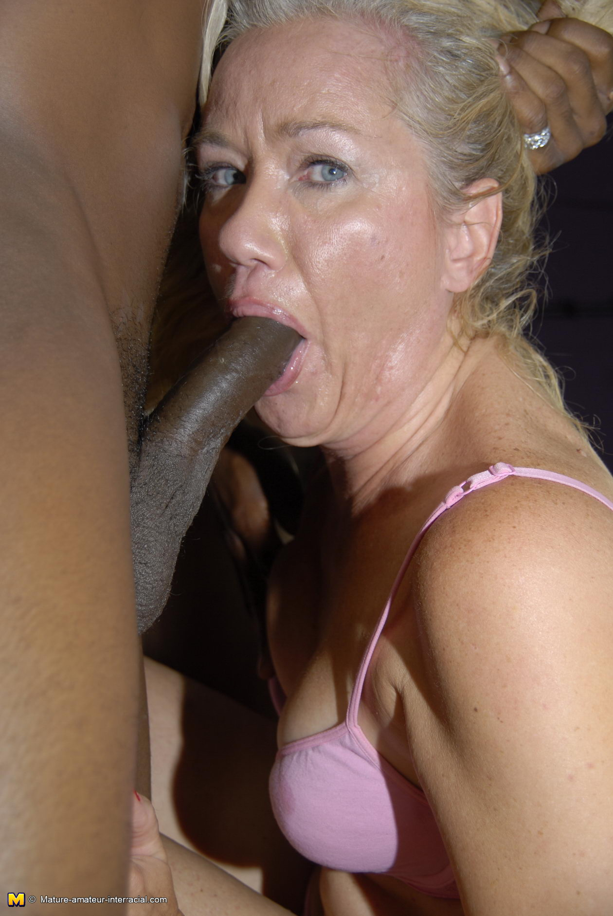 Granny and black cock