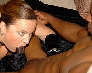 This horny housewife needs a big black cock